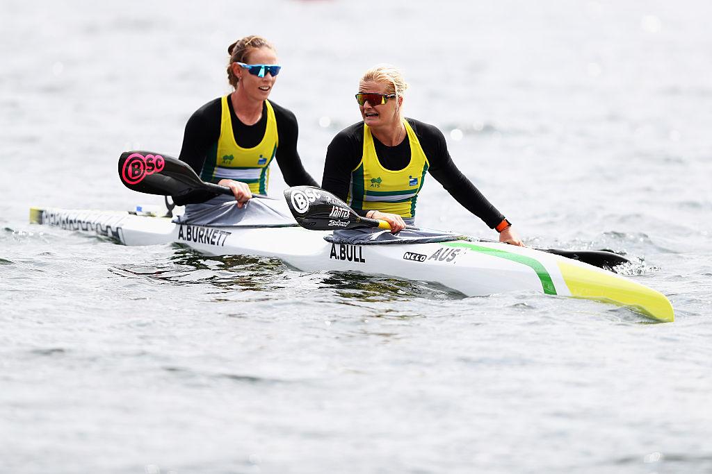Burnett and Bull primed for Olympic debut
