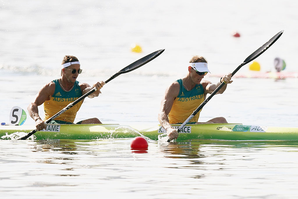 Wallace and Tame win kayak bronze