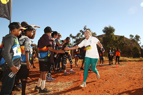 'Deadly' champs make impact at Uluru Fun Run