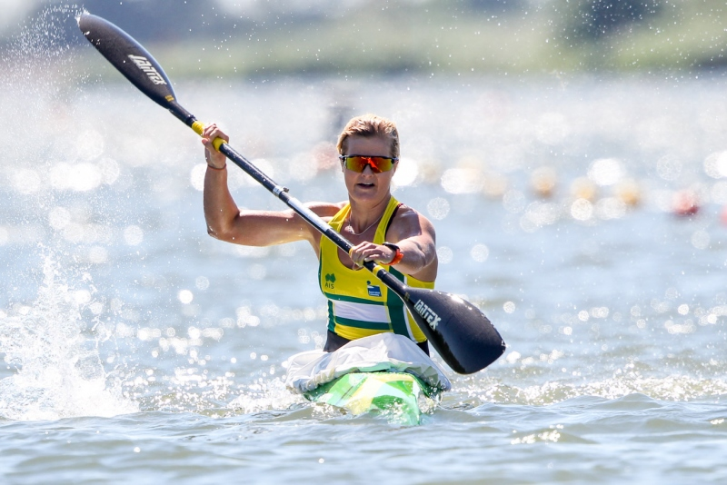 Bull adds silver to her World Championship canoe gold