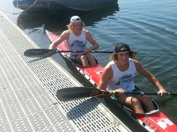 Kayakers Bain and Wood claim first AYOF gold
