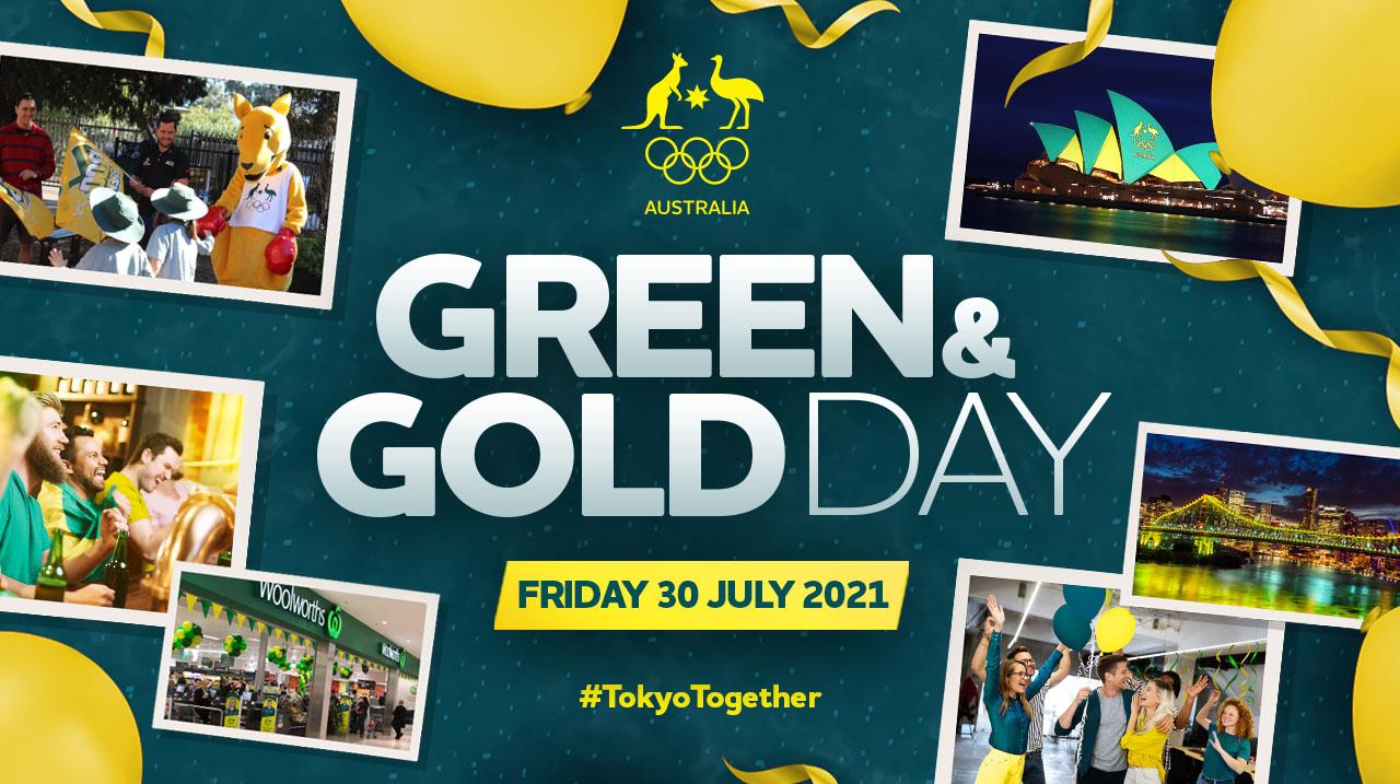 Turn Australia Green & Gold on 30 July 2021