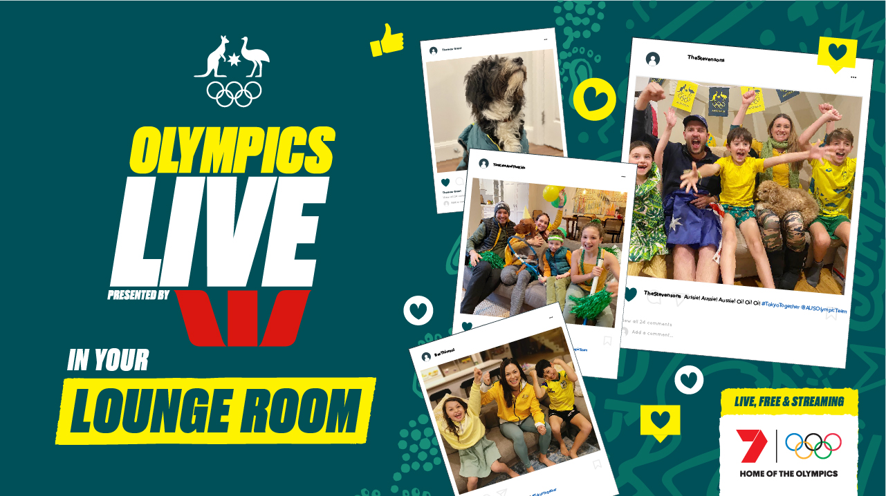 Olympics Live in your Lounge Room