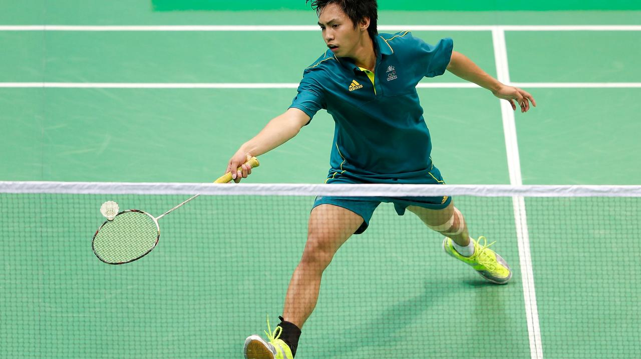 Young badminton talent chasing Rio success