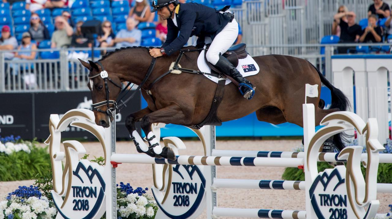 Australian Eventing Team qualifies for Tokyo 2020