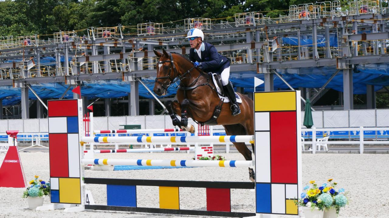 Andrew Hoy and Bloom - Equestrian Australia