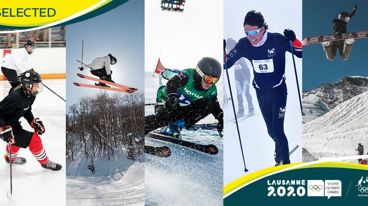 33-STRONG AUSTRALIAN TEAM ANNOUNCED FOR 2020 WINTER YOUTH OLYMPIC GAMES