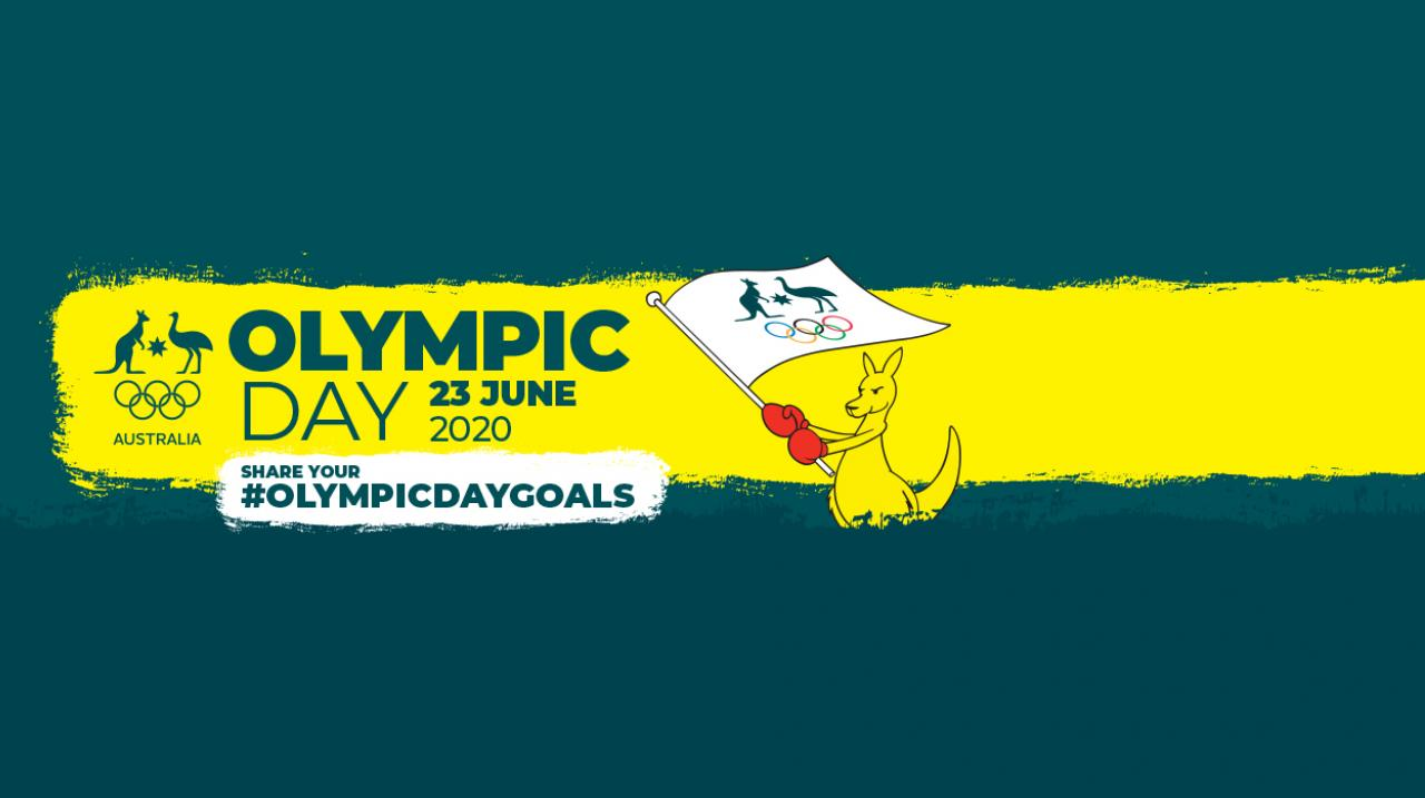 Olympic Day web header
