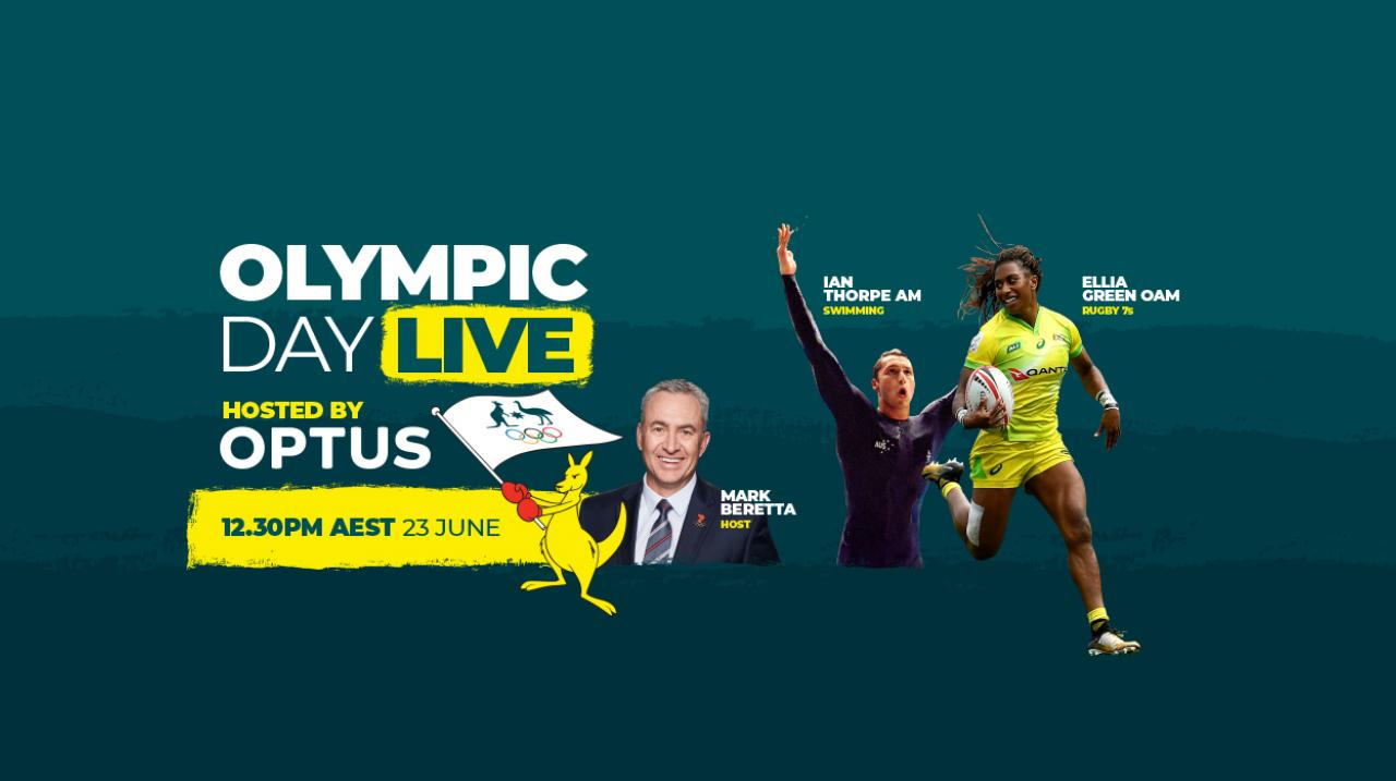 Olympic Day Live, hosted by Optus