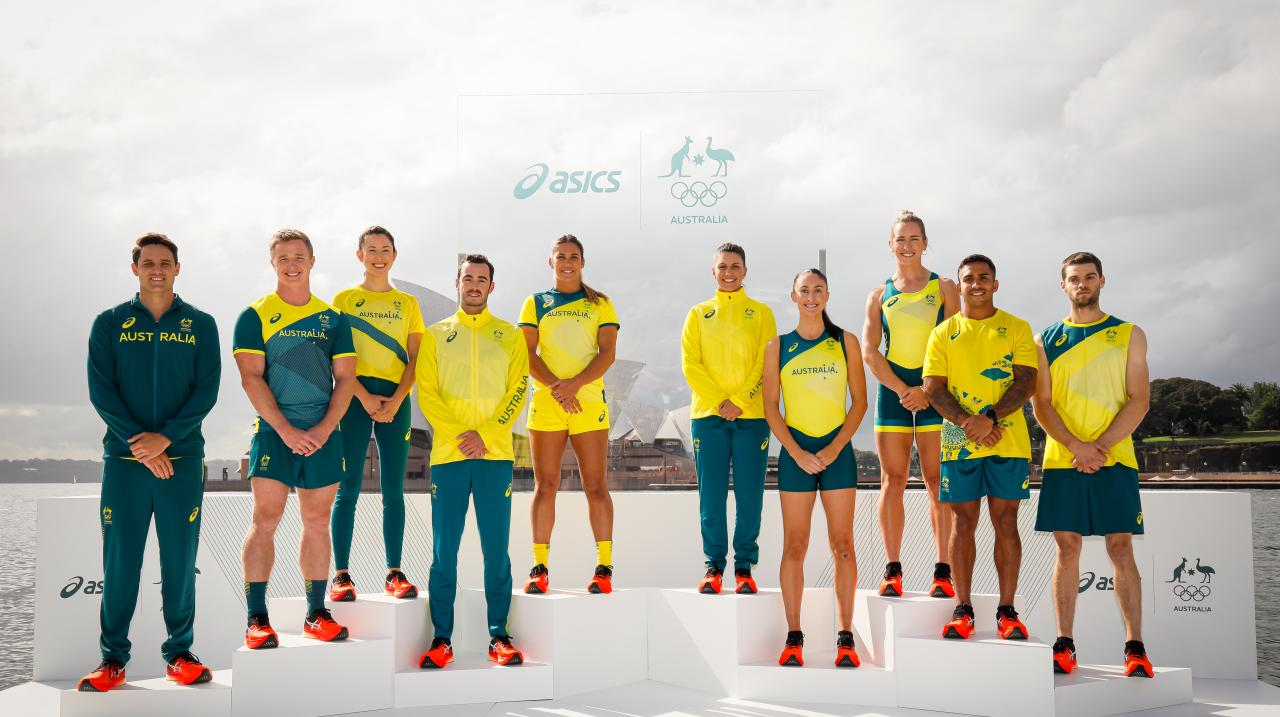 Launch of the Australian Olympic Team Asics Kit