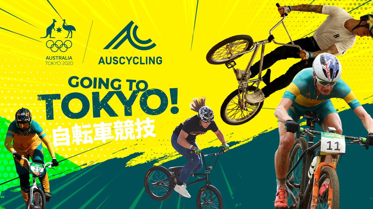Australia's BMX and Mountain Bikers selected for Tokyo 2020