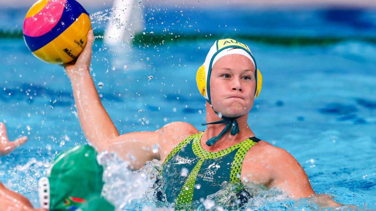Rowena Webster on the attack against South Africa