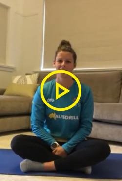 Wellbeing at home with Hockeyroo Sophie Taylor - Part 1