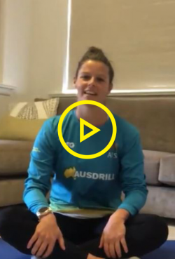 Wellbeing at home with Hockeyroo Sophie Taylor - Part 2
